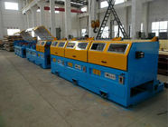 22KW * 10 AC Motor Stainless Steel Wire Pulling Machine Long Life Span