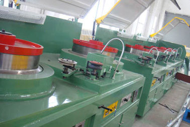 Large Vertical Cable Drawing Machine , High Accurancy Cupper Rod Breakdown Machine