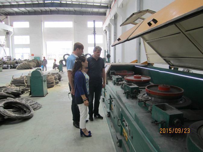 Air Pressure Control Industrial Wire Descaling Machine With Strong Triangular Belt